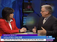 Steven Wyer talks  online reputation with Colleen Williams on Nonstop News LA