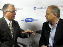Short video of Steven Wyer Interview on The CMO Club with Pete Krainik